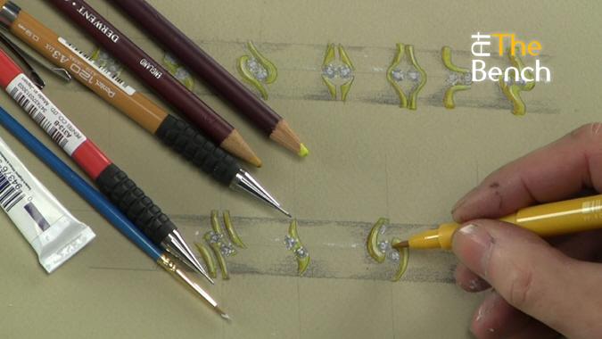 Rendering Rings Using Templates
