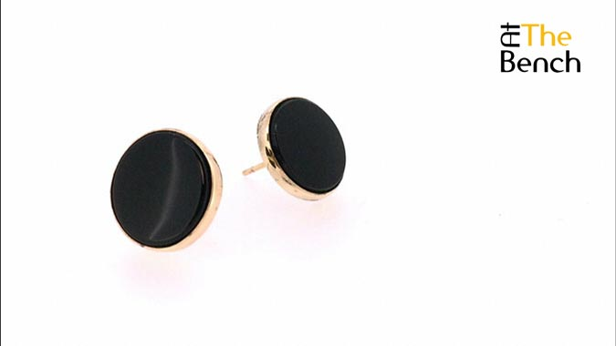 Replacement Onyx Earring
