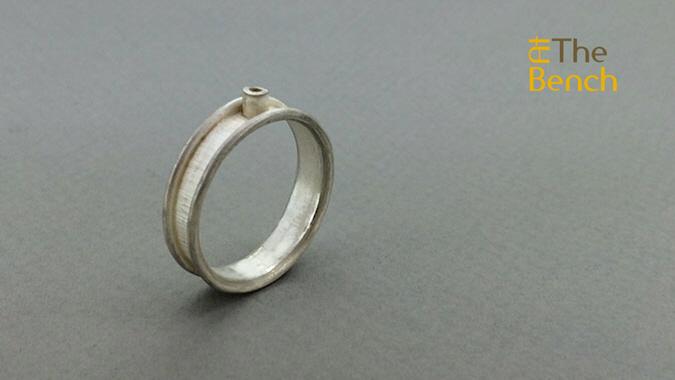 Round Wire Edged Ring