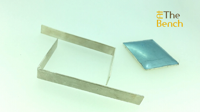 Making the Sides of the Wafer Box