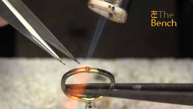 Soldering a Cut Off Ring