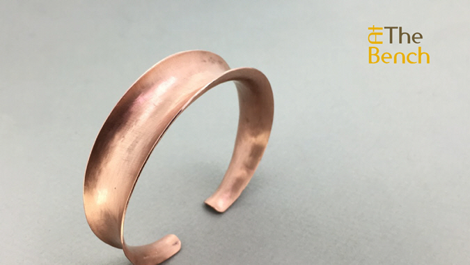 Double Tapered Anticlastic Bangle