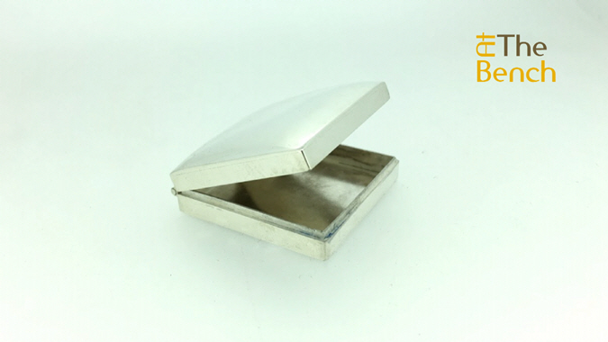 Silver Wafer Box