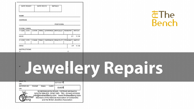 Taking In Jewellery Repairs