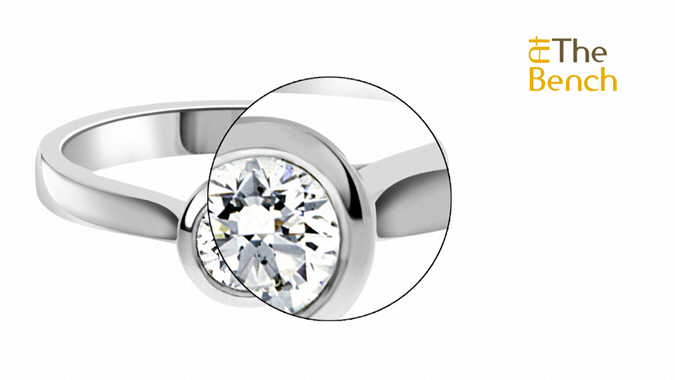 Thick Bezel Ring
