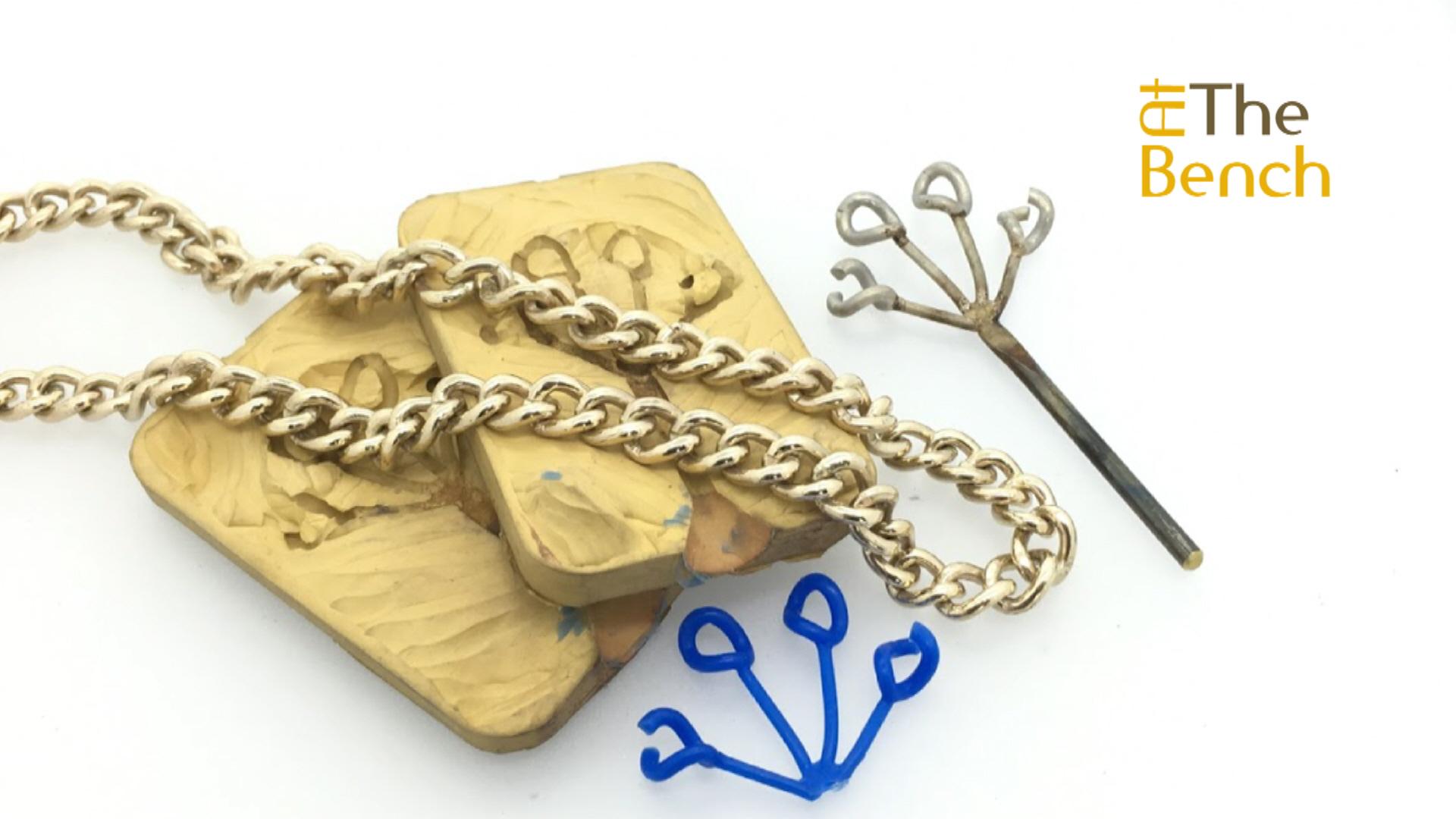 Casting a Curb Chain